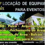 Aluguel de tendas Itaúna e região