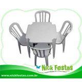 Locação de mesas e cadeiras Zona Norte/ Oeste