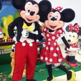 Minnie e Mickey - Personagem Vivo