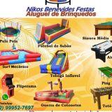 Aluguel de Touro Mecanico e Brinquedos em Rio das