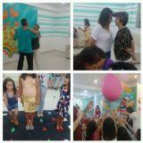 Recreação, som, pintura facial, escultura balões.