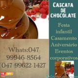 Cascata de Chocolate Festchoco