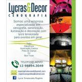 Decoração em Lycra Tensionada Vale do Paraíba
