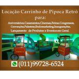 Locaçao Carrinho de Pipoca Retro