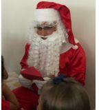 Visita de Papai Noel, Alugo 1 Roupa de Papai Noel