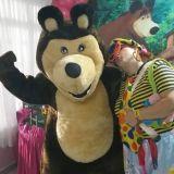 Animação Urso Masha, Personagens Vivos Fantasias