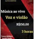 Cantor musica ao vivo Banda