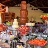 Choconick Fondue - Cascata de Chocolate com Frutas