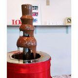 cascata de chocolate...chocolate e cia