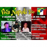 Banda Italiana em sua casa ( Viva Napoli-Trio )