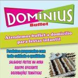 Buffet Domínius - festas em domicílio