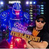 Robô de Led com DJ Som e Iluminação