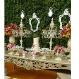 Decorações de casamento e buffet