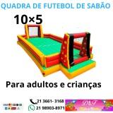 Aluguel de Futebol de Sabão em Piabetá Magé RJ