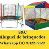 Aluguel de Brinquedos em Itapecerica da Serra