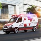 Ambulância para Eventos - Cruz Branca