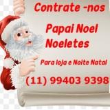Papai Noel para noite de natal, Papai Noel para lo