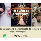 Consultoria para festas e eventos