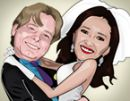 Caricaturas para convites: casamento, aniversário