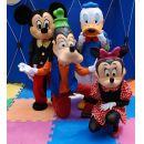 Personagens vivos, Animação e Princesas Disney