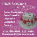Thais Casado Cake Designer & Confeiteira.
