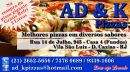 Ad&k Pizzas delivery