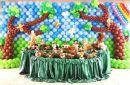 Decoração de festa infantil e decoração com balões