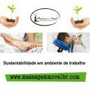Massagem, alternativa sustentável para eventos