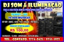 DJ Luz & Som & Telão