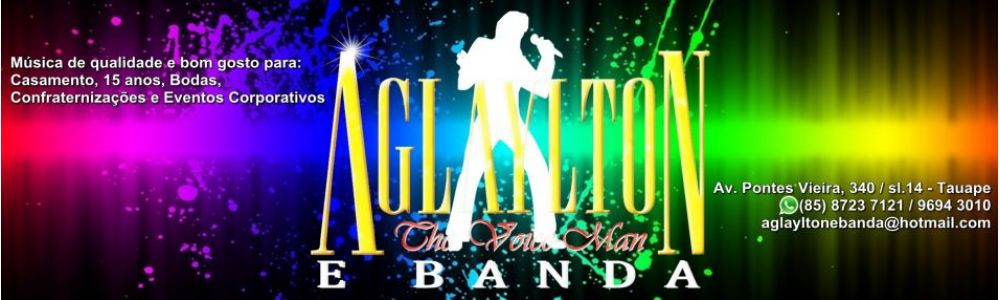 Aglaylton e Banda - The Voice-Man®