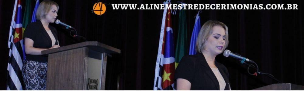Aline Fernanda - Mestre de Cerimônias