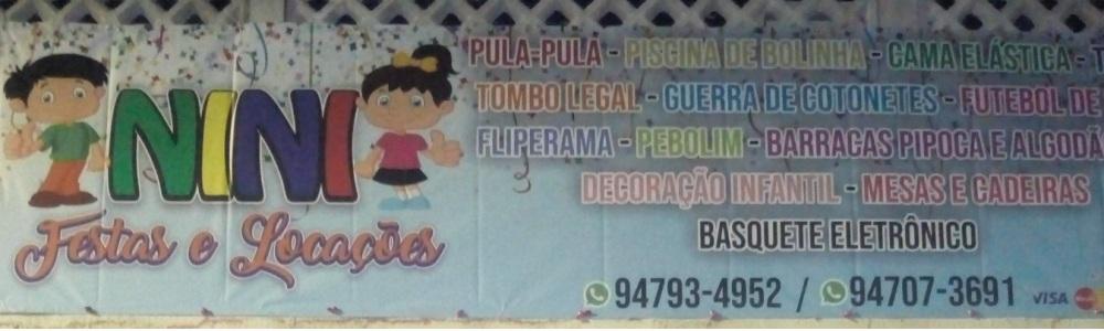 NINI Festas Locações Brinquedos Suzano e Região!