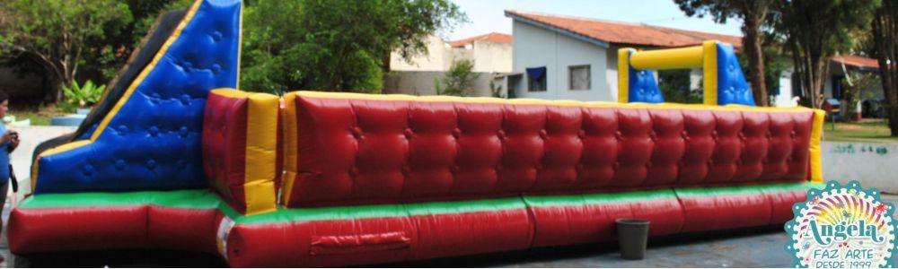 Locação de brinquedos infláveis para festas: Ângela faz - Tatuí