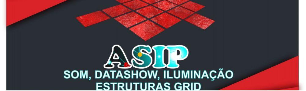 Locação de som, Datashow, Iluminação, Grid - ASIP
