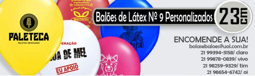 Bolas de Vinil Personalizadas e Bexigas/ Balões de Látex personalizados
