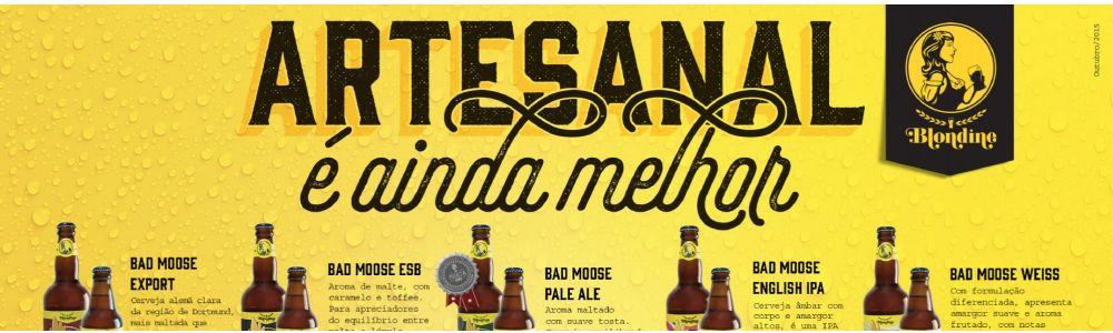 Blondine Cervejaria - Cervejas Artesanais