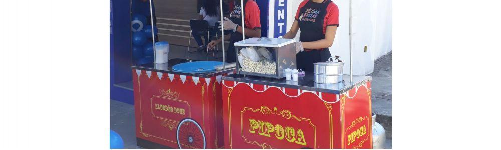 Aluguel de carrinho de mini hambúrguer em Belo Hor
