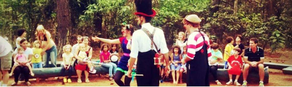 Animação de festas infantis e eventos com a Cia. Pilombetagem!!