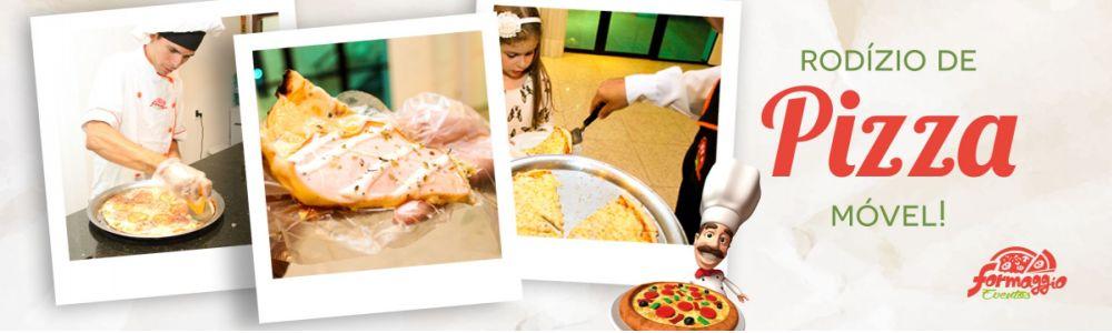 Rodízios de Pizzas onde você preferir!