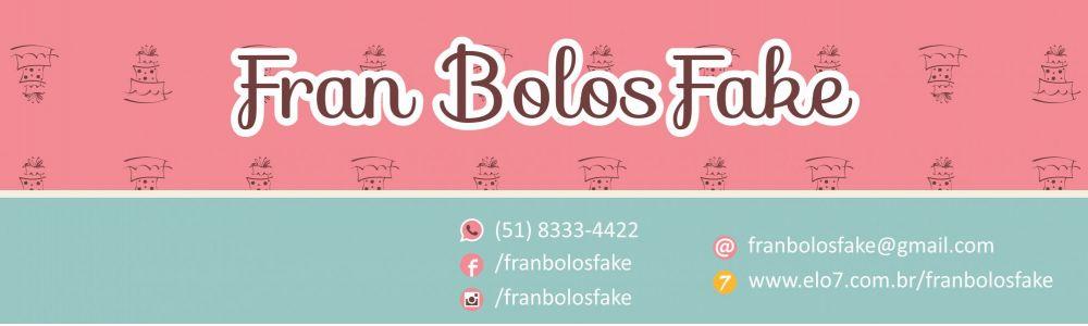 Fran Bolos Fake - Seu bolo falso personalizado é aqui!