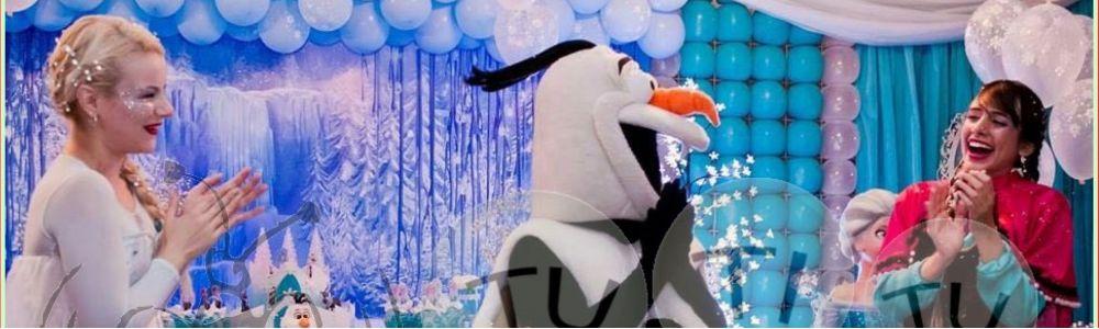 Frozen Elsa Anna e Olaf para festas e eventos Bh e regiao