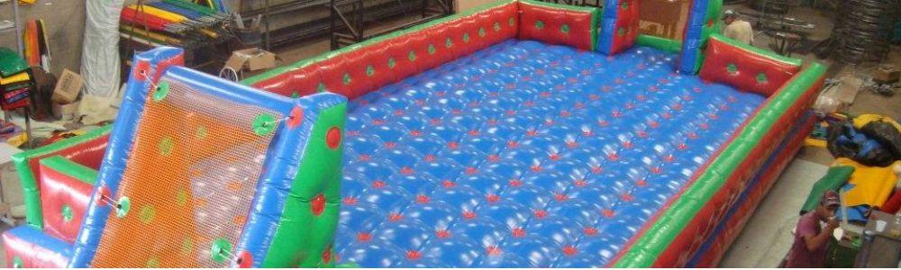 Eventos com infláveis e equipamentos