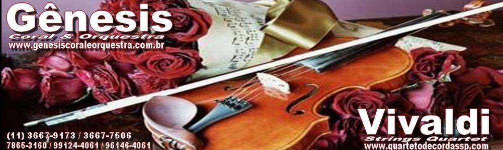 Coral Gênesis e Vivaldi Quarteto de Cordas