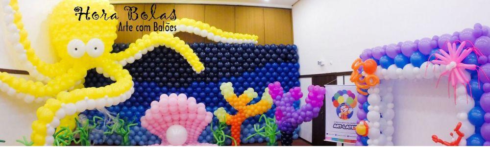 Hora Bolas - Decoração de Balões