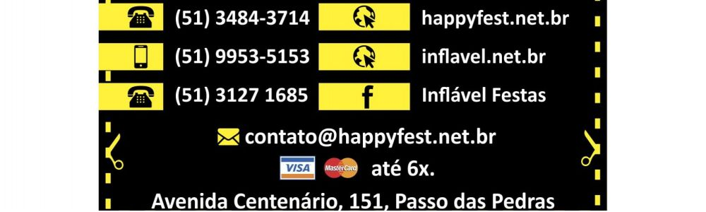 Happy Fest/ Inflável