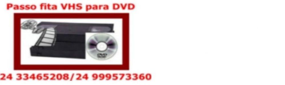 Passo Fita Vhs Para Dvd