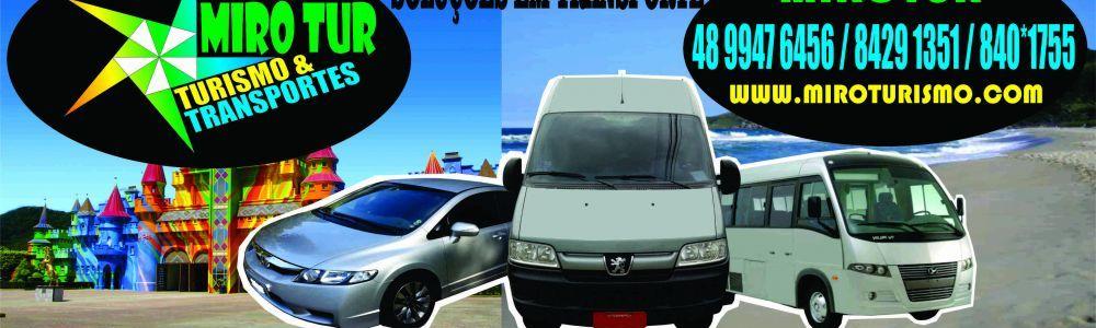 transporte com Van, Micros, carros executivos