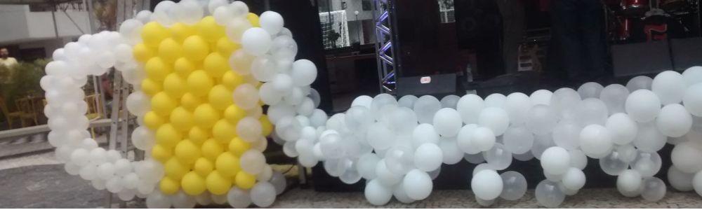 Decoração e Esculturas com Balões