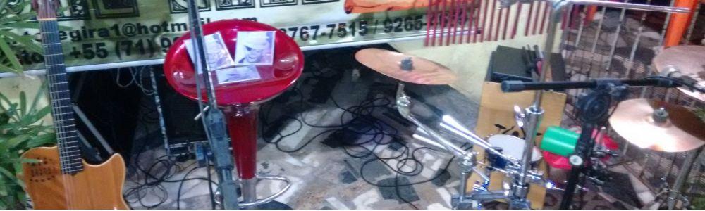 Percussionista para voz e violão