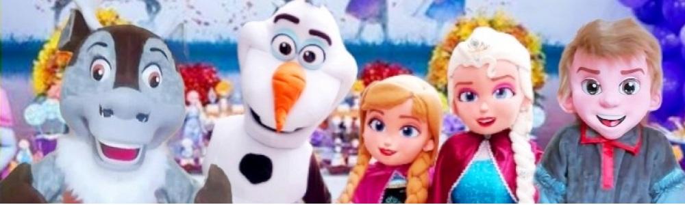 Frozen Animação Festa Infantil Personagens vivos cover